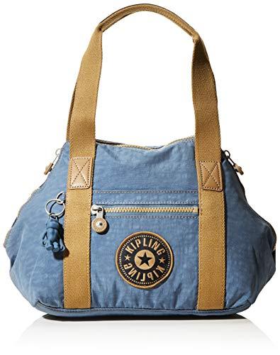 Kipling Damen Art Mini Taschen mit Tragegriff, Blau (Stone Blue Block), Einheitsgröße