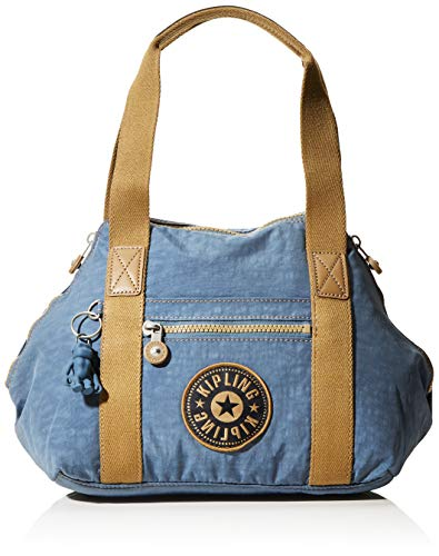 Kipling Women's Art Mini Shoulder Bags, Blue (Stone Blue Block), One Size