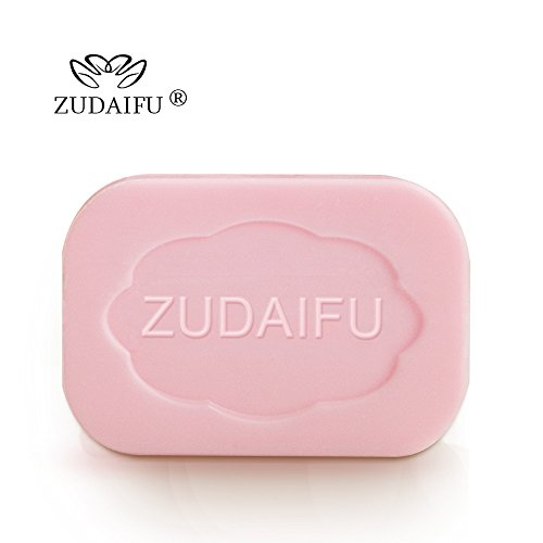 ZUDAIFU 2 Pieces Cream Soap Sulfur Eczema Psoriasis Soap Shower Body Cleanser Skin Health Antibacterial Stop Itching Bar Bathroom Kit for Family