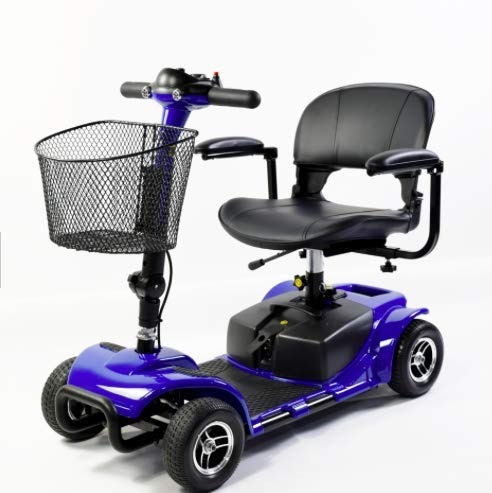 Mobility HQ Plus 4mph Lightweight Travel Car Boot Portable Mobility Scooter