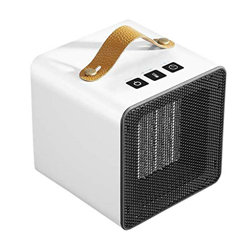 Pstars Mini Portable Ceramic Space Heater with Adjustable Thermostat, Automatic Overheat Protection, Efficient and Lasting, Energy Saving, Electric Warmer Office Winter Warm Heater Portable Space