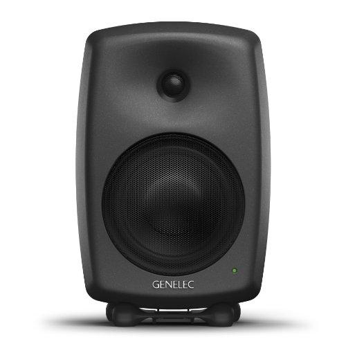 Genelec 8040bpm Lautsprecher–Lautsprecher (schwarz, Flur, Tischplatte/Bücherregal, Studio, Eingebaut, verkabelt, XLR)