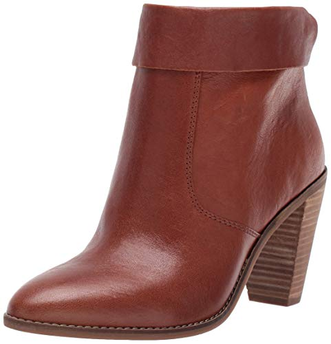 Lucky Brand Women's LK-NYCOTT Fashion Boot, Whiskey, 8.5 M US