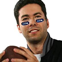 Seattle Seahawks Eye Black Strips (6 Vinyl Stickers)