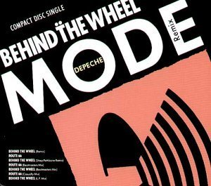 Behind the Wheel / Route 66 Single, Original recording reissued Edition by Depeche Mode (1992) Audio CD