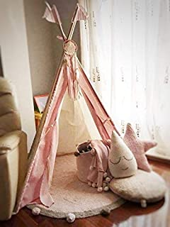 Atrapasueños infantil para niña rosa/decoración bebé
