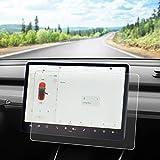 LMZX Tesla Model Y Model 3 Matte Screen Protector Anti-Glare Anti-Fingerprint 15