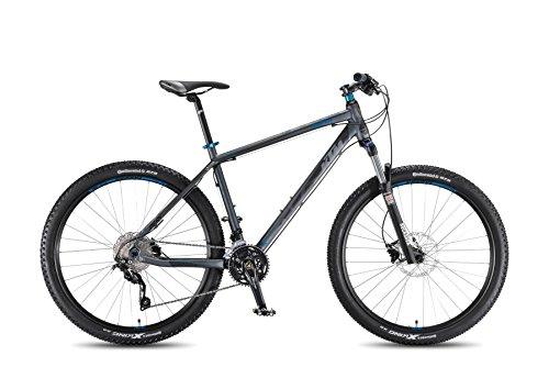 KTM Ultra Flite 27 MTB 2016 grau matt schwarz blau, RH 53, 13,40 kg