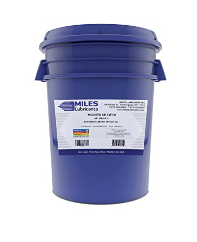 Milesyn SB 5W30 API GF-5/SN Synthetic Blend Motor Oil 5 Gallon Pail