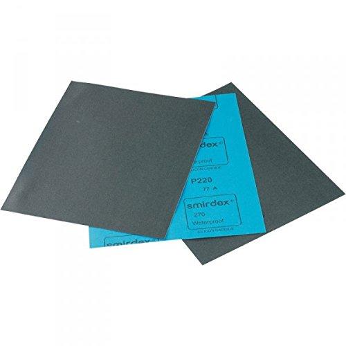 Smirdex 50x P2000 Nassschleifpapier Wasserschleifpapier Schleifpapier Schleifbogen wasserfest