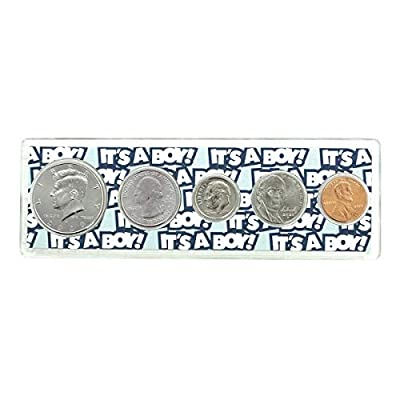 """2020-5 Coin Birth Year Set in""""It's a Boy"""" Holder Uncirculated"""