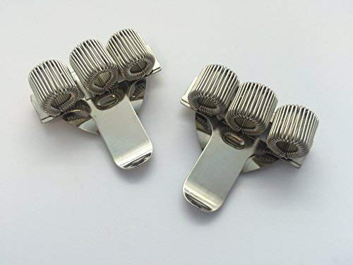 Triple Hole Metal Pen Holder with Pocket Clip - Doctors, Nurse, Unif