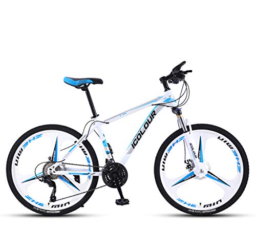 QWLM-1BV Maschio Mountain Bike Fuoristrada a velocità variabile Bicicletta da Corsa Leggero Doppio...