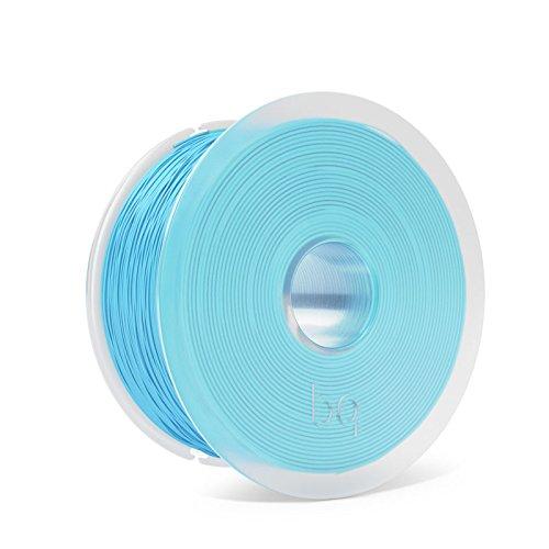 BQ F000164 Filamento PLA Easy Go, 1.75mm, 1 kg, Topazio Azzurro