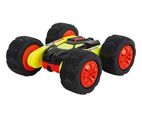 Carrera RC Turnator - Glow in the Dark – Ferngesteuertes, elektrisches Spielzeugauto – 360° Flip Action Stunts in alle Richtungen – Bis zu 20 km/h