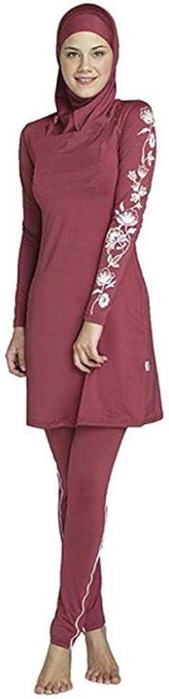 YEESAM Muslim Swimsuits for Women, Full Body Islamic Burkini Modest Swimwear