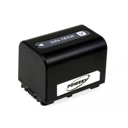 Batteria per Sony modello NP-FV70, 1960mAh/13,3Wh, 6,8V, Li-Ion