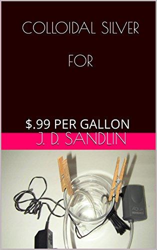 COLLOIDAL SILVER FOR: $.99 PER GALLON