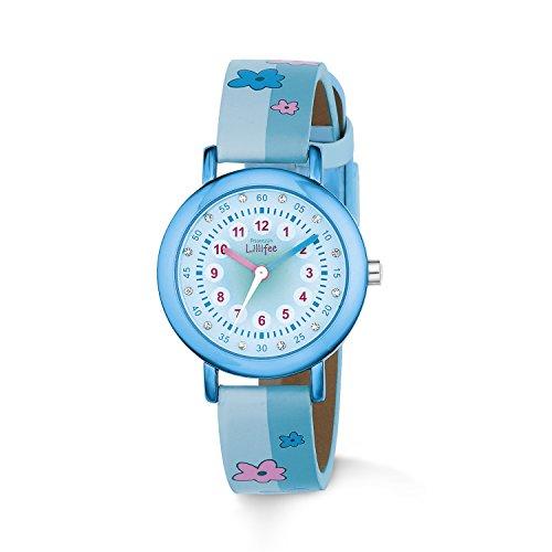 Prinzessin Lillifee Mädchen-Armbanduhr Analog Quarz Kunstleder 2013200