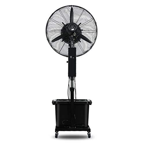 Draaibare ventilator van de elektrische ventilator houdt de maximale snelheid instelbare telescoopstang, eenvoudig en eenvoudig op te bouwen.