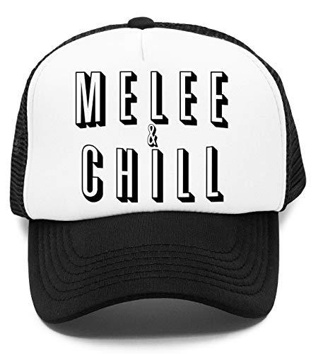 Vendax Melee & Chill Niños Gorra De Béisbol Baseball Rapper Cap