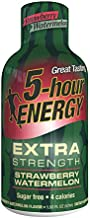 5 Hour Energy Drink Shot, Extra Strength Strawberry Watermelon, 12 Count