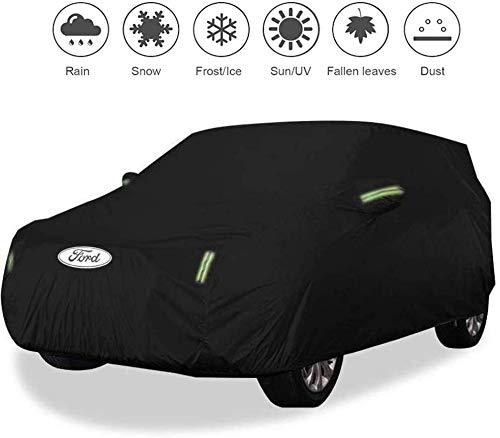 Zfggd Cubierta del Coche Ford Ecosport Impermeable Y Transpirable Lluvia Ultravioleta del Sol Durant