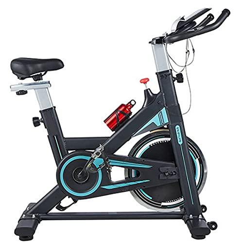 BETTER ANGEL LE Bicicleta Estática Plegable. Sistema De Freno Magnético Bicicleta Estática De Ciclismo para Interior con Soporte para iPad Y Asiento Cómodo