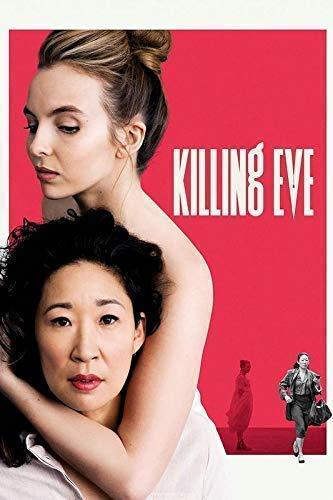 Desconocido Killing Eve Serie de TV Póster Foto Series Jodie...