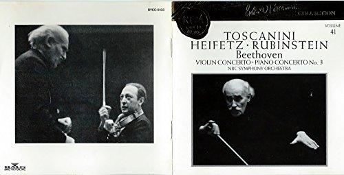 ベートーヴェン:ヴァイオリン協奏曲&ピアノ協奏曲第3番