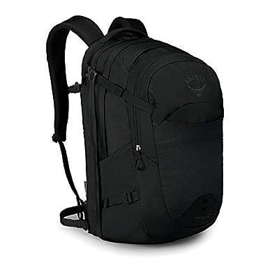 Osprey Nebula Men's Laptop Backpack, Black , One Size