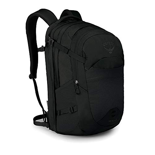 Osprey Packs Nebula Men's Laptop Backpack, Black , One Size