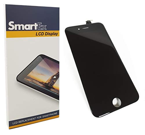 Smartex New Display Nero Compatibile con iPhone 6 / Schermo LCD Retina e Vetro Touch Screen