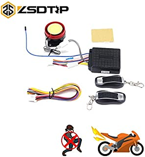 12V Motorcycle Alarm System Motorbike Anti-Theft Security Alarm System Protection Remote Control Security Engine