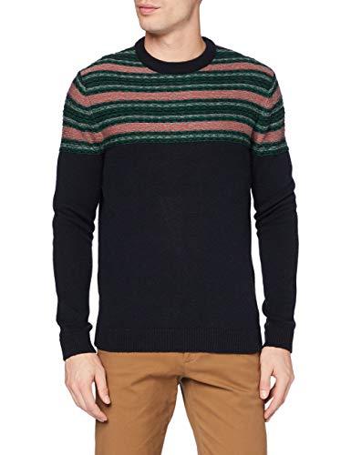 ESPRIT Herren 100EE2I325 Pullover, 403/NAVY 4, XXL