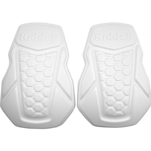 RIDDELL Youth Football Knee Pads, White