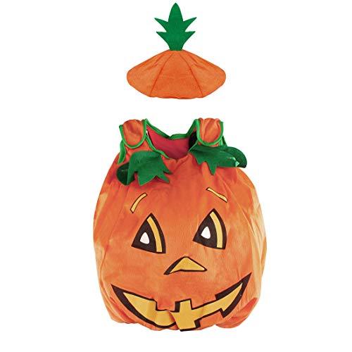 I bambini costume arancione zucca SS-NGY01