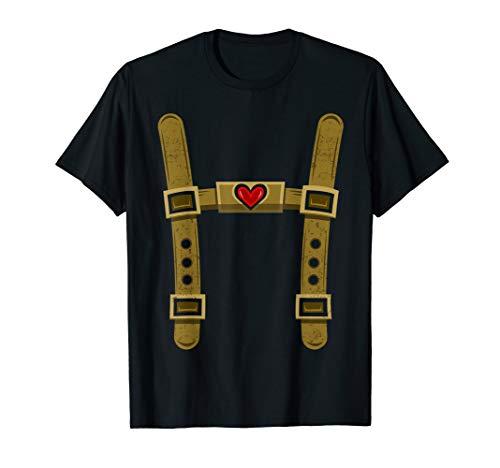 Lustiger Lederhosen Ersatz für Oktoberfest Besucher T-Shirt