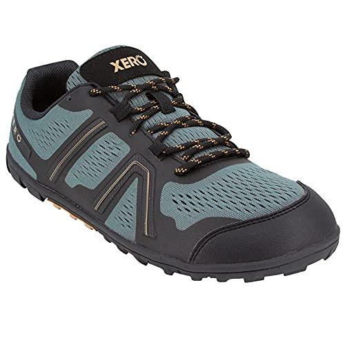 Xero Shoes Men's Mesa Trail Running Shoe - Lightweight Barefoot Trail Runner, Forest, 10.5
