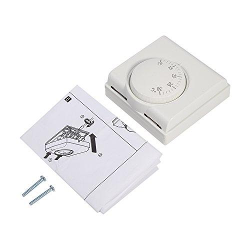 Termostato inteligente: termostatos de 220 v para el hogar, termostato de ambiente de encendido/apagado para refrigeración y calefacción