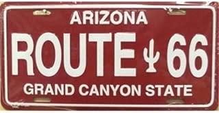 LP - 105 AZ Arizona Novelty Route 66 License Plate - A3075