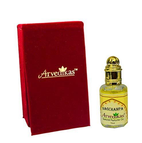 Chakra Nag Champa Natural perfume aceite 100% puro y natural–Aceite 10ml
