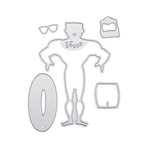Sommer DIY Sammelalbum Fotoalbum Prägewerkzeuge Dekorative Papierkarte Handwerk Ostern Schneideschablone Bastelvorlage Messerförmige Papierschneidekarte Muttertagsgeschenk