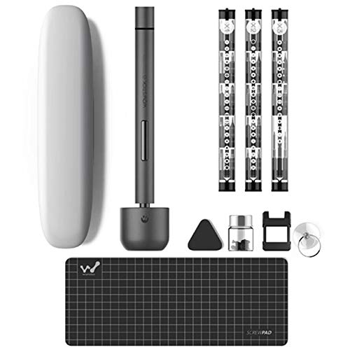 Wowstick 1F+ 69in1 電動精密ドライバー ビット56種セット ケース USB充電式 LEDライト付き [並行輸入品]