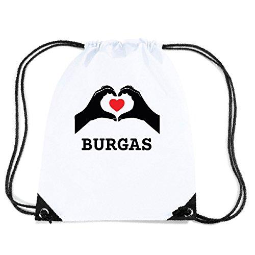 JOllify Burgas Gym Bag GYM3810, Design: Hände Herz