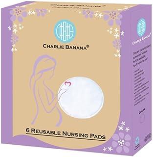 Charlie Banana Nursing Pads,  Black