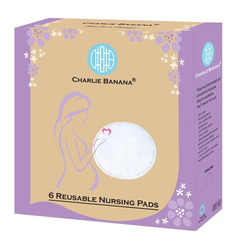 Charlie Banana Nursing Pads, Black
