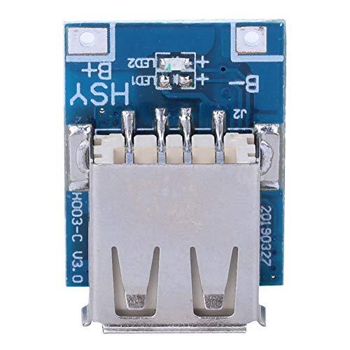 10PCS昇圧ステップアップ電源モジュール、5V 1Aリチウム電池USB充電保護ボード134N3P DIY充電器LEDディスプレイ