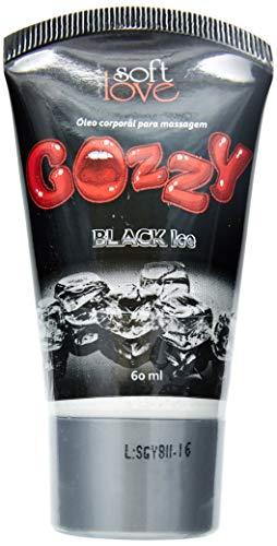 Excitante e Lubrificante Feminino Gozzy, Soft Love, Black Ice, 60ml