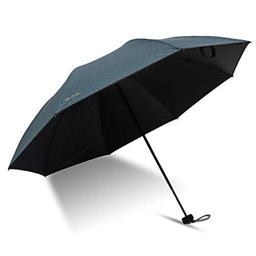 Big seller Regenschirme Sonnenschutzschirm-Taschenschirm für Männer und Frauen (Farbe : Natürlich)